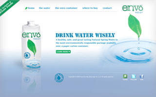envo water website