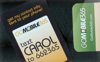 gomobile business card