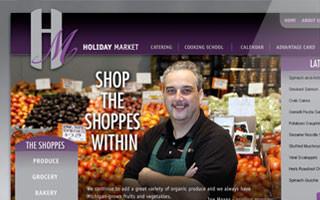 holiday market website