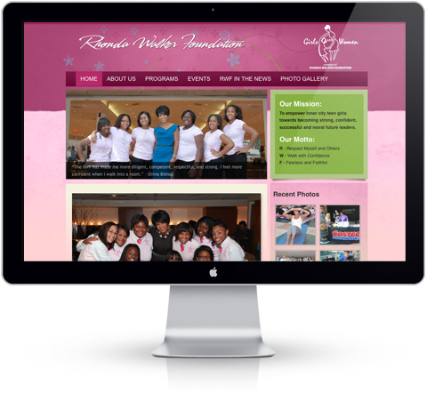 rhonda walker foundation website
