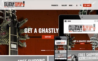 GuitarGrip Website