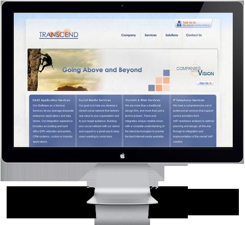 transcend technology website