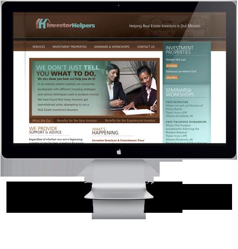 Investor Helpers Website