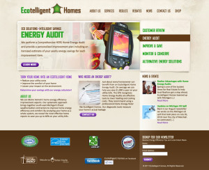 ecotelligent website and mobile theme