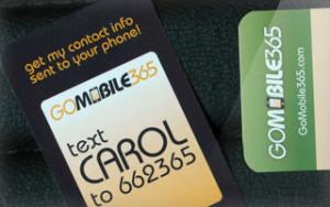 gomobile business card