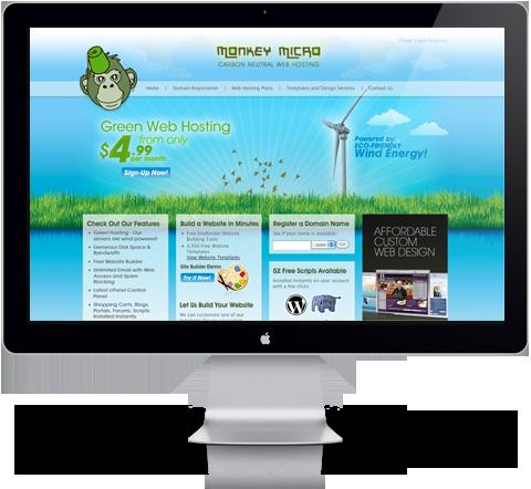 monkey micro website