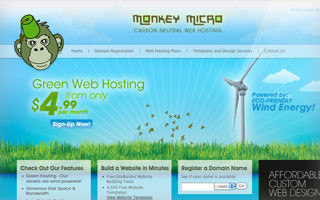 monkey micro website