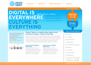plugin talent website