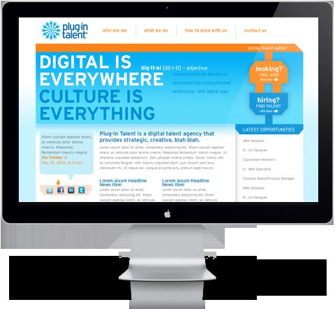 plugin talent website