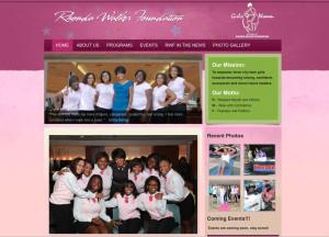 rhonda walker foundation website