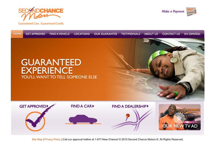 second chance motors website