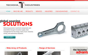 Tecnoma Industries Website Redesign