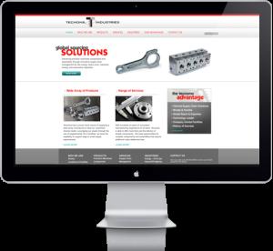Tecnoma Industries Website Redesign