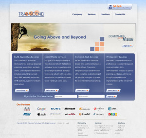 transcend tech website