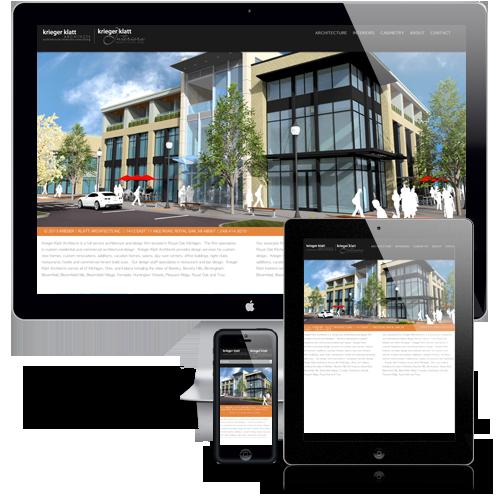 Krieger | Klatt Architects Responsive Website Design
