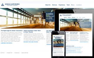 Angle Advisors Responsive Website Design