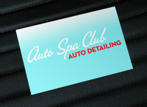 Auto Spa Club Logo Design