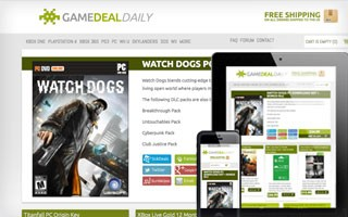 Game Deal Daily Website