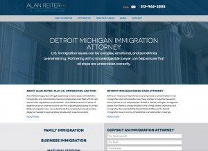 Alan Reiter, PLLC Website Redesign