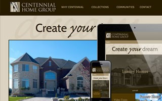 Centennial Home Group Website