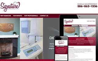 Signature Endodontics Website