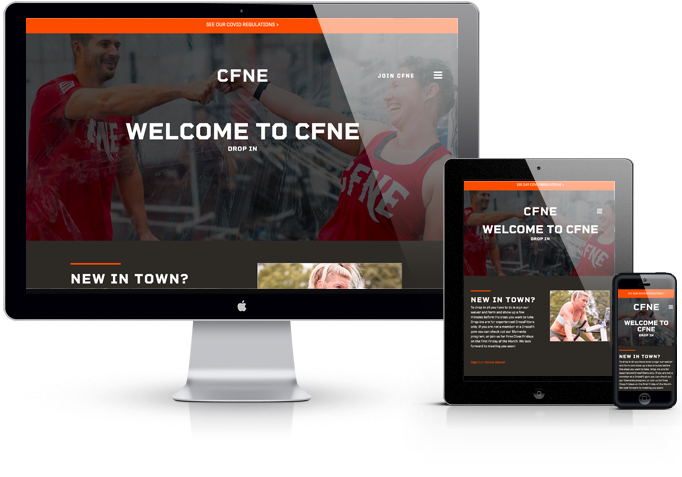 CrossFit New England WordPress Website Theme
