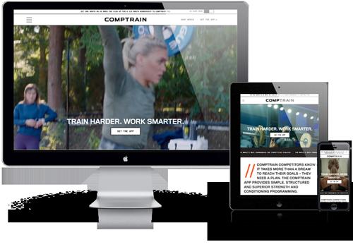 COMPTRAIN WordPress Website Theme